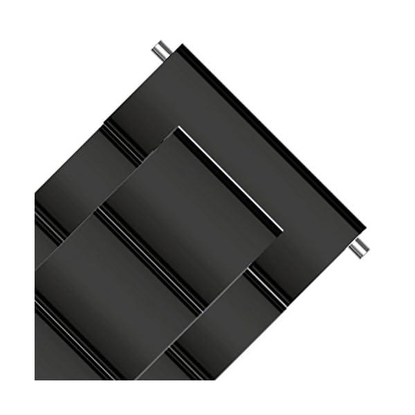 Fullmosa 4 Colores para Correa Metálica de Reloj de Liberación Rápida, Pulsera Reloj de Acero Inoxidable 14mm 16mm 18mm… 2