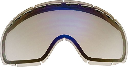 Lenti di ricambio per Oakley Crowbar Occhiali da Neve, Clear Mirror
