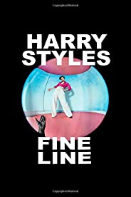 Harry-Styles-Fine Line: Notebook Blank Lined Ruled 6x9, 120 Pages