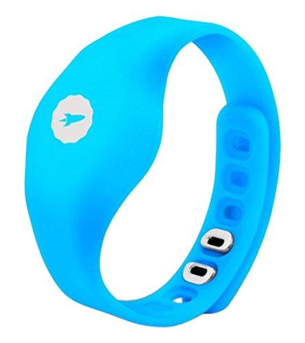 SPC Fit - Pulsera de actividad, color azul, talla única