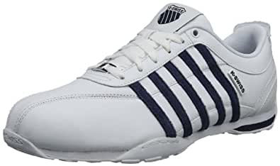K-Swiss ARVEE 1.5 02453-183-M Herren Sneaker, Weiß (White/Mood Indigo/Gull Gray), EU 39.5 (UK 6)