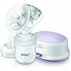 Philips Avent Comfort Single Electric Breast Pump (White)
