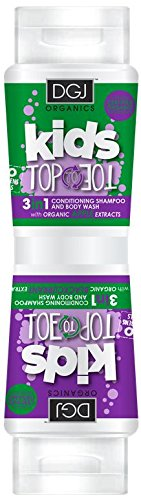 DGJ Organics Kids Top to Toe 3 in 1 Body Wash Apple and Blackcurrant 250ml
