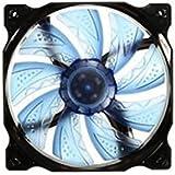 Blau 3-pin / 4-pin 120mm Pwm-PC-Computer Fall CPU-Kühler Lüfter Mit LED