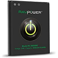 RAVPower 2600mAh Li-ion Battery for Samsung Galaxy S4 with NFC
