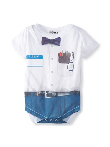 Faux Real Tees Infant Nerd Strampler (Grave Digger Kind Kostüme)