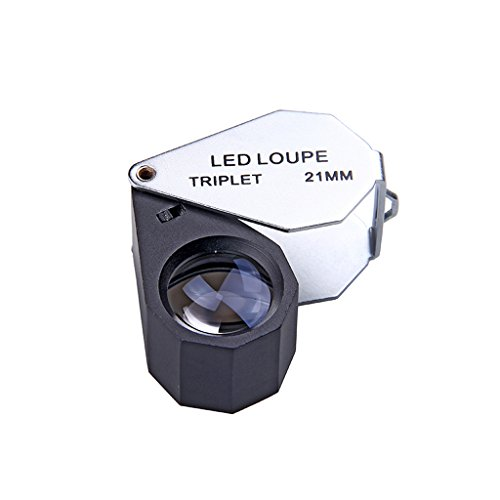 Aschenbecher Mini Portable Magnifier, Super High Clarity Schmuck Loupe Use for Science Experiments &...