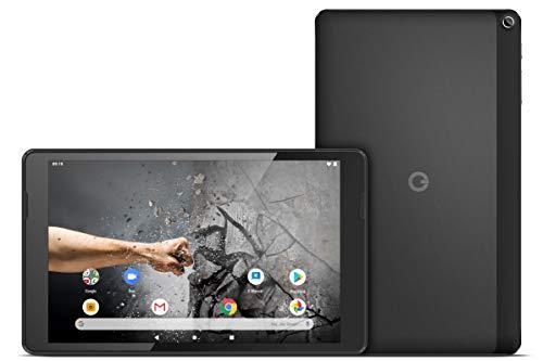 Odys Thanos 10 25,7cm (10,1 Zoll HD IPS Touch) Tablet-PC (MTK MT8163 Quad-Core Prozessor mit bis zu 1,5GHz, 2GB RAM, 16GB Flash Speicher, ARM Mali 720 MP2 Grafikprozessor, Wi-Fi, Android 9) Anthrazit