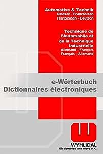 WYHLIDAL Automotive & Technik; Deutsch-Französisch/F-D; Fachwörterbuch mit 450.000 Stichwörtern