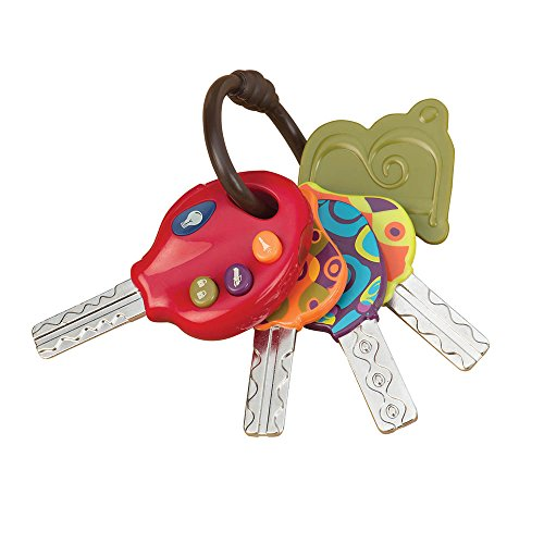 B. toys – LucKeys – 4 Textured Toy Keys for Babies for sale  Delivered anywhere in Ireland