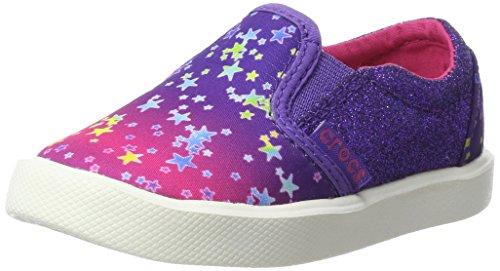 Crocs citilnnovlslpk, sneaker a collo basso unisex – bambini, (multi stars), 29/30 eu
