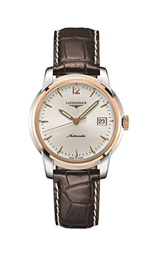 Longines Saint-Imier Automatic Steel & 18k Gold Plated Mens Strap Watch Calendar L2.763.5.72.0