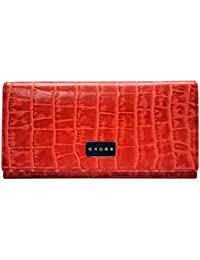 Cross Women's COCO SIGNATURE Full Flap Wallet - RED