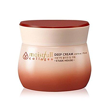 Etude House Moistfull Collagen Deep Cream 2.53 Oz/75Ml (Etüdenhaus Kollagen-Tiefencreme)