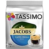 Tassimo Jacobs Caffè Crema Doux (16 Portions) (Pack de 4)