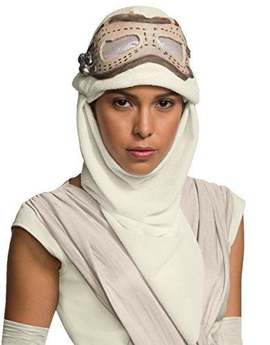 Der Sith Accessoire Damen Kostüm, Star Wars Rey Maske Kapuze (Rey Star Wars The Force Awakens Kostüm)