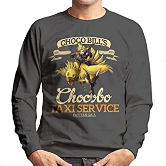 Cloud City 7 Chocobo Taxi Service Final Fantasy VII Men's Sweatshirt