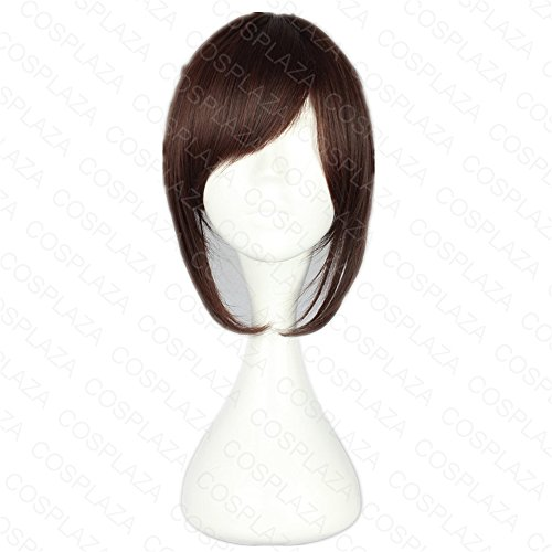 COSPLAZA Perücke Braun Anime Cosplay Wig Karneval Party Haar Attack on Titan Sasha Blaus (Attack On Titan Kostüm Sasha)