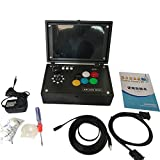 gaeruite 3D Pandoras Box Spielekonsole Arcade, Retro Game Controller Maschine 10inch Schirm, 2177 in 1 Arcade-Spiel Jamma HDMI Retro- Konsole, 2.6kg