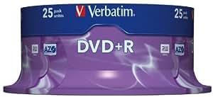 Verbatim Dvd+r 4.7GB - Confezione da 25