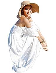 JUNGEN Moda Plegable Verano Señoras Gorra Visera Tapa Señoras Sombrero Sombrero de playa Vacaciones Caqui
