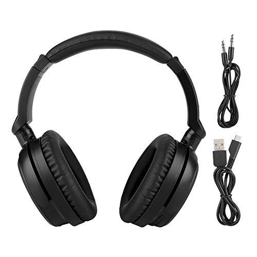 pfhörer Over Ear, Faltbar Noise Cancelling Kopfhörer Drahtlose Headset Over Ear für Handy, PC Computer ()