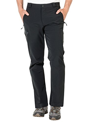 Jack Wolfskin Herren Activate Thermic Pants Men Softshell-Hose, Black, 50 (Softshell-hose Herren)