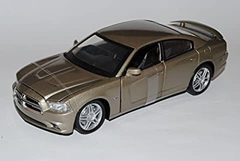 Dodge Charger R/T Limousine Grau 2005-2012 1/24 New Ray Modell