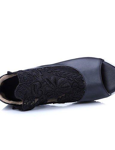 LFNLYX Scarpe Donna-Solette interne e accessori / Sandali / Ballerine / Sneakers alla moda / Ciabatte-Matrimonio / Ufficio e lavoro / Formale / Black