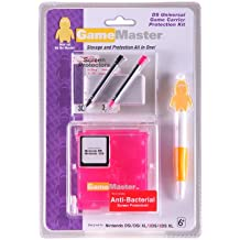 GameMaster Nintendo DS Universal Game Carrier Protection Kit (Pink)