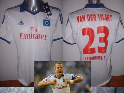 adidas Hamburg SV Van Der Vaart BNWT Shirt Jersey Radsport Trikot XL Formotion Top Holland Niederlande Spurs