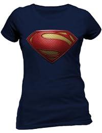 Femmes - Official - Man Of Steel - T-Shirt
