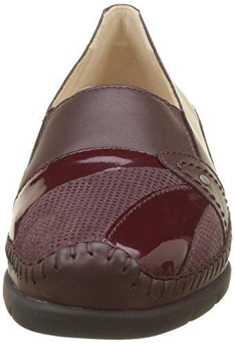 Luxat Damen Emantine Slipper Rot (Bordeaux)