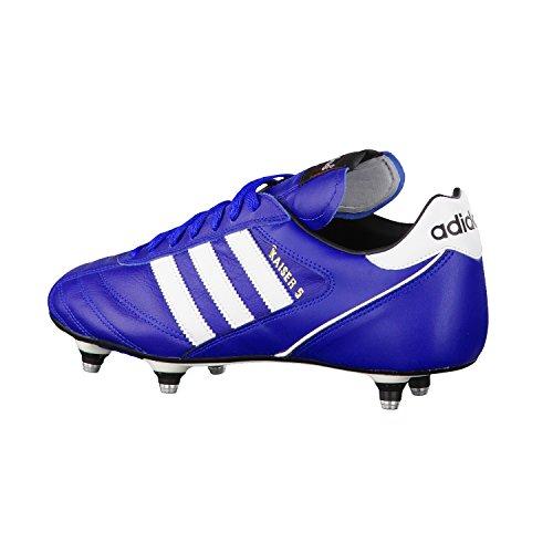 adidas Herren, Kaiser 5 Cup, Mehrfarbig (Ftwr White/Core Black/Core Black), 44 Blau