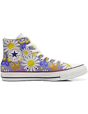 Converse All Star zapatos personalizadas Unisex (Producto Artesano) Camomil Texture