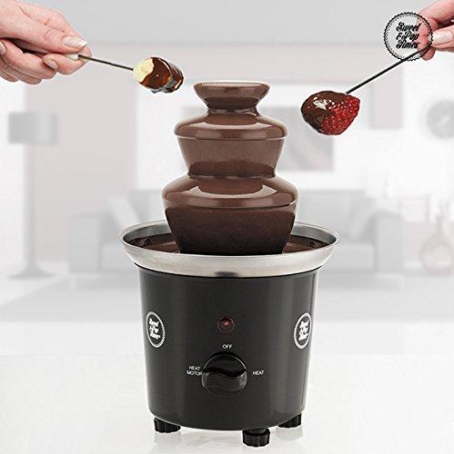 Appetitissime Sweet & Pop Times - Fuente de chocolate, 60 W, color negro
