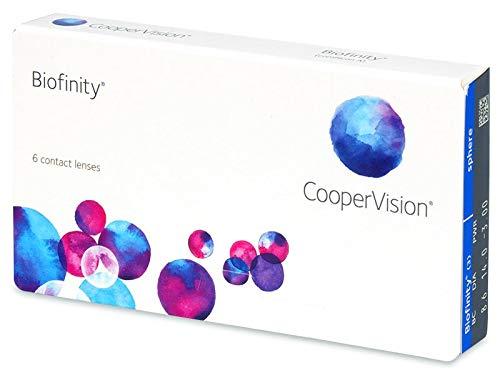 Cooper Vision Biofinity 6er Pack (Dioptrien: +03.25 / Radius: 8.6 / Durchmesser: 14)