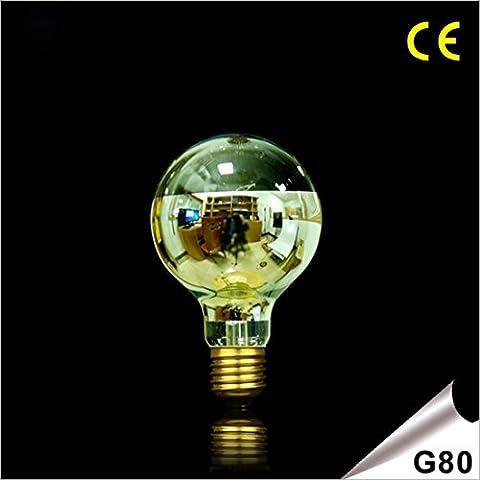 LEIBO@E27 G80 gruppi di bulbo di vetro tungsteno / lampadina Edison retrò , (Immagine Gruppo)