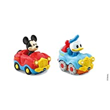 VTech – TTB – Donald – Mickey Mouse Convertible Duo + 4x4 Box Interactive Toy – Multicoloured 406505