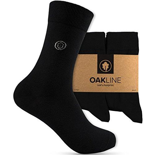 OAKLINE 6 Paar Rebel Black Damen Business Socken Schwarz 35-38 Schwarze 35-36 37-38 Frauen Mädchen Damensocken 100 Baumwolle Gr. Gr Größe Anzug 38-40 Frauen Strumpf Strümpfe (schwarz, 35-38)