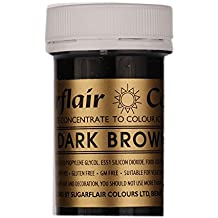 Sugarflair Spectral Paste Edible Food Colouring Colour Icing 25G - Dark Brown