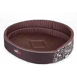 Espuma de perros de la cama HOBBYDOG, tamaño 6, 70 x 55 cm, aushaltbares Codurastoff, lavable a máquina a 30° C, resistencia a los arañazos, la UE-producto