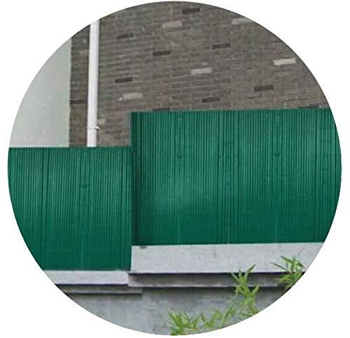 Jet 7 Garden - Canisse PVC Double - Face vert en rouleaux Hauteur hauteur 1.5 mètre