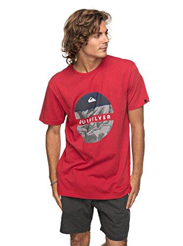 Quiksilver Classic Outer Hacka - T-Shirt - T-Shirt - Männer - XL - Rot