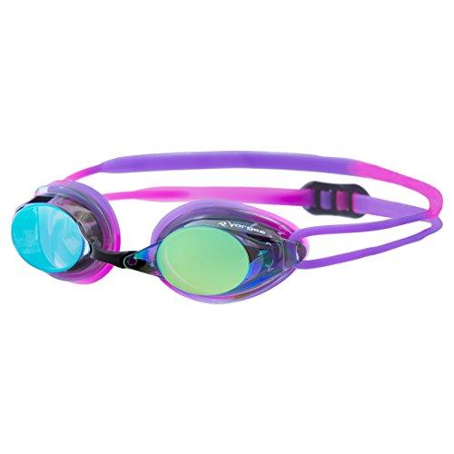 Vorgee Missile - Fuze - Rainbow Mirrored Lens Schwimmbrille, Hot Pink/Purple, Einheitsgröße