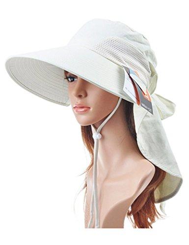 Chapeau de soleil Printemps et été Anti-UV chapeau de soleil pliable Sunscreen chapeau Plage Cap ( Couleur : 2 ) 5