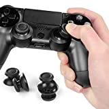 Footprintse 100Pcs Schwarz 3D Analog Joystick Stick Modul für Playstation Controller-Farbe: schwarz