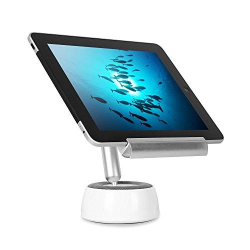 oneConcept - Shinepad, LED-Tischlampe, Tablet-Halterung, Hoch- und