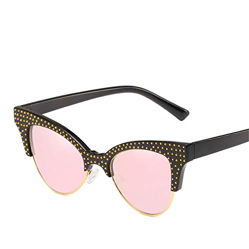Wenkang Fashion Diamond Cat Eye Sunglasses Female Sun Glasses for Women Shades Ladies Eyewear Designer Vintage Glasses Uv400,3