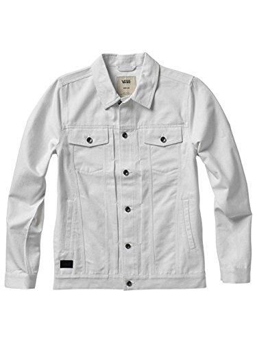 Herren Trainingjacke Vans Vaneto Jacket White